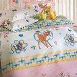 постельное бельё для новорожденных BAMBI BABY V-3