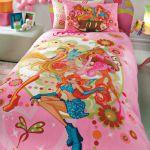 детское постельное бельё WINX FASHION