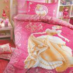 детское постельное бельё Дисней gold princess