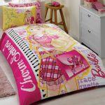 детское постельное бельё Barbie charm school двухстороннее