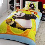 детское постельное бельё kung fu panda power