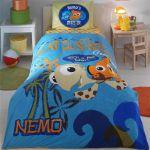 детское постельное бельё finding nemo двухсторонний