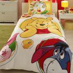 детское постельное бельё Winnie balloon двухсторонний