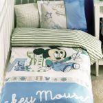 постельное бельё для новорожденных Mickey scribble play