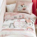 постельное бельё для новорожденных Minnie scribble play