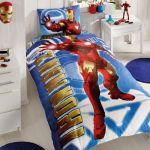 детское постельное бельё IRONMAN двухсторонний