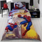 детское постельное бельё Spiderman sense двухсторонний