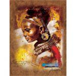 Пазл Африканская  красавица 1000