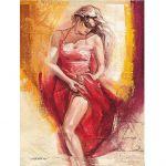 Пазл Испанская танцовщица 1000