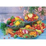 Пазл Корзина с овощами 1000