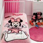 Плед детский Minnie Scribble розовый
