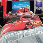 детское постельное бельё CARS FACE MOVIE
