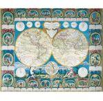 Пазлы Историческая карта 2000