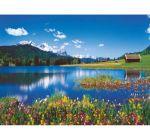 Пазлы Горное озеро 3000