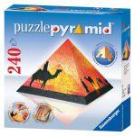 Пазл Восход солнца в пустыне  240 (пирамида)