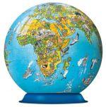 Пазл-шар Карта мира в иллюстрациях 270