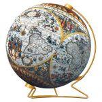 Пазл-шар Историческая карта + стойка 540