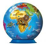 Пазл-шар Детский глобус с животными 72