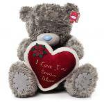Мишка Тедди держит сердце I Love Sooo… Much. 61см