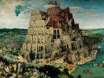 Пазлы Брейгель ст.: Вавилонская башня 5000